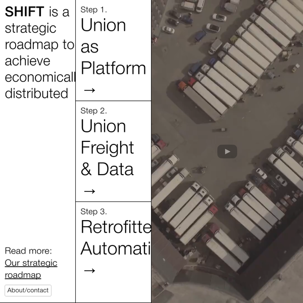shift is a strategic roadmap