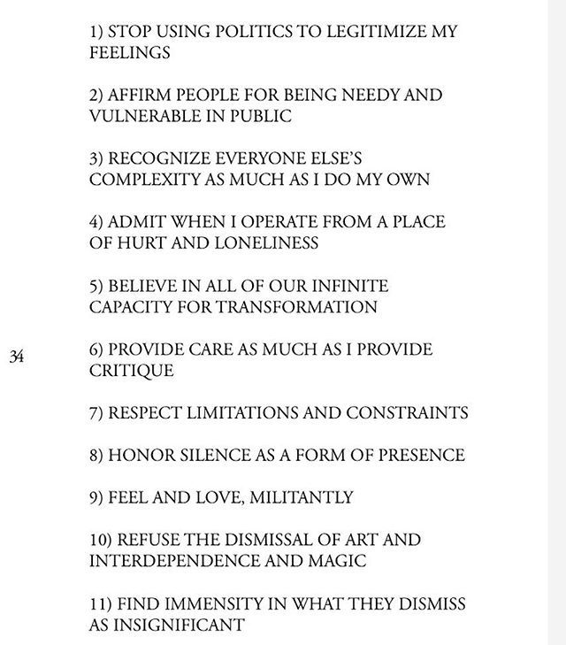 """""""New Years Revolution"""" the final poem at the end of my poetry chapbook #FemmeInPublic (available for a short time at the link in my bio - please order!). every once and a while ! look back at this piece to ground myself in my priorities and convictions ✨"""