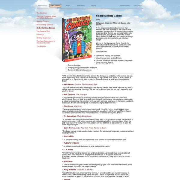 scottmccloud.com - Understanding Comics