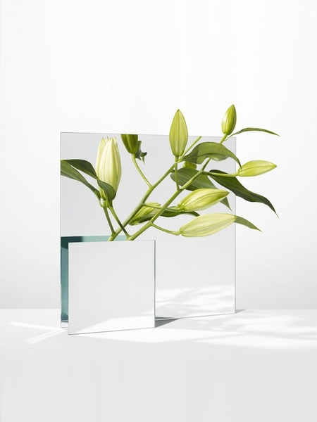 Mirror vase by Forest & Giaconia