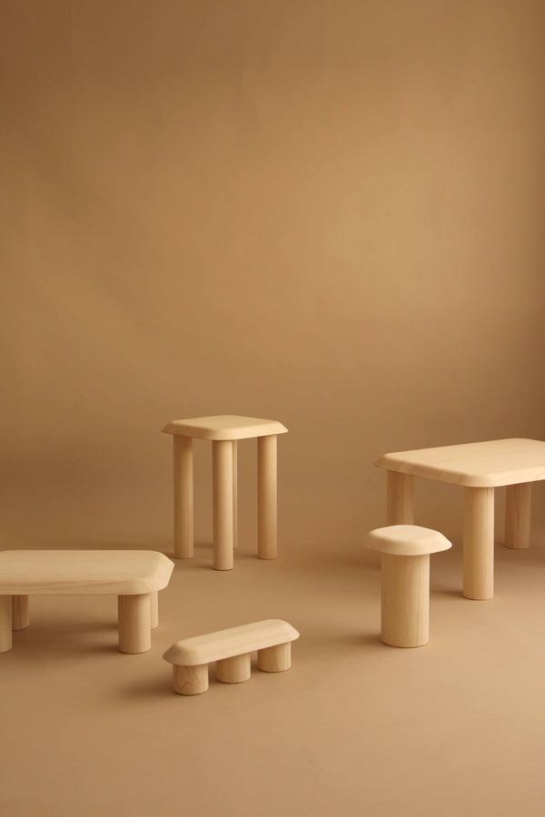 Bigfoot furniture by Maria Bruun