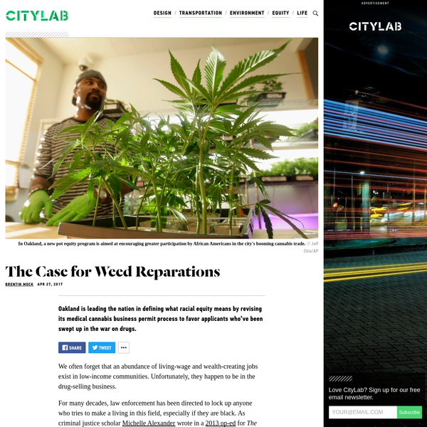 Oakland Is Trying To Reverse the War on Drugs