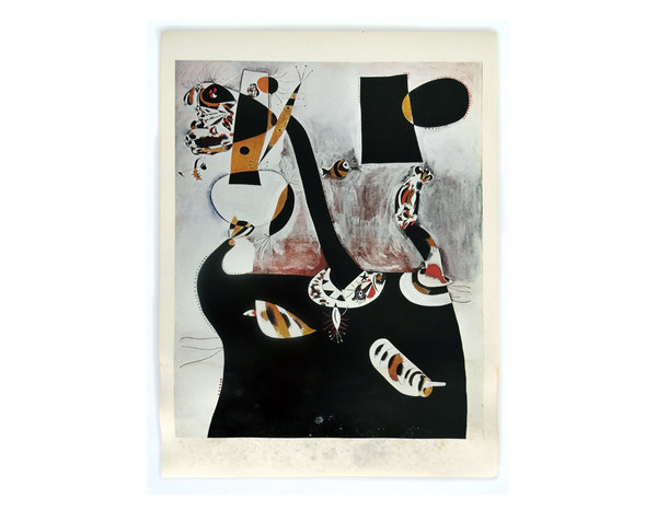 """Joan Miró, """"Seated Woman II"""""""