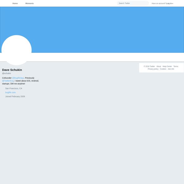 Dave Schukin 🤘 on Twitter