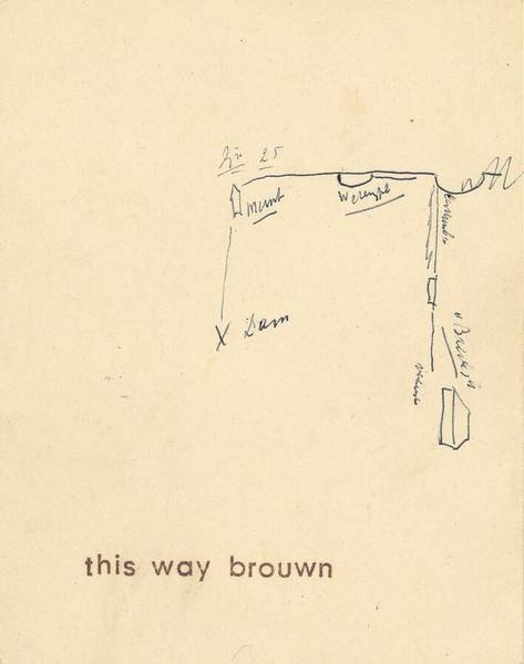 Stanley Brouwn - This Way Brown (1962)