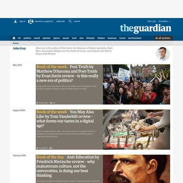John Gray | The Guardian
