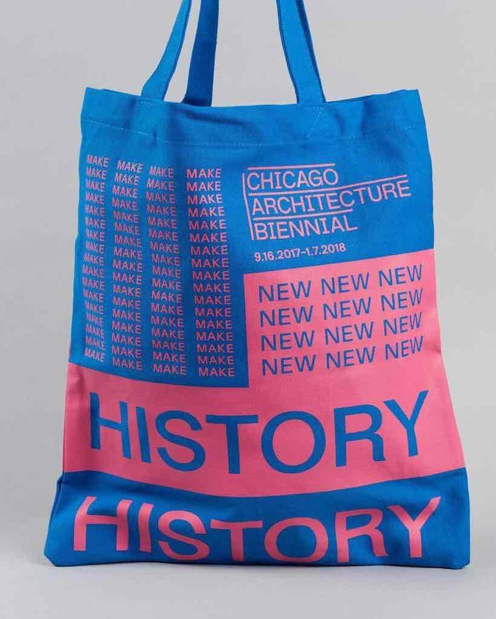 Chicago Architecture Biennial Tote