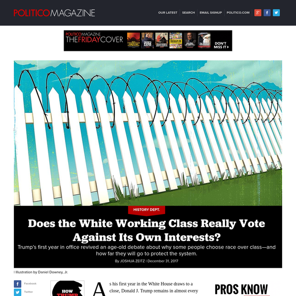 Does the White Working Class Really Vote Against Its Own Interests?