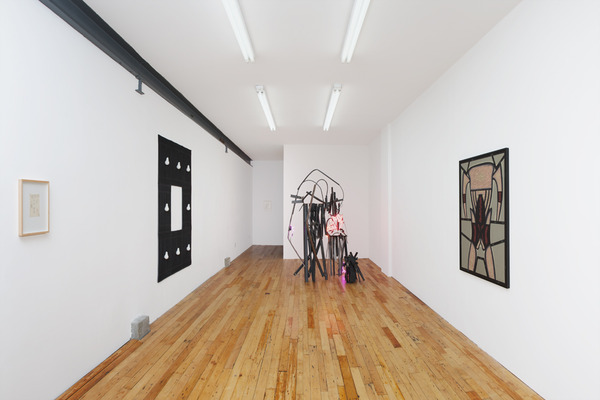 2013.09 Within and Throughout : Paul Lee, Jo Nigoghossian, Christina Ramberg, Within and Throughout, Installation view, 2013