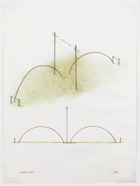 2013.06 Stuart Sherman : Proposed Sculptural Projects..., Double Vault, 1989