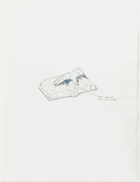 2013.06 Stuart Sherman : Proposed Sculptural Projects..., untitled (hand / glove), c. 1985-1989