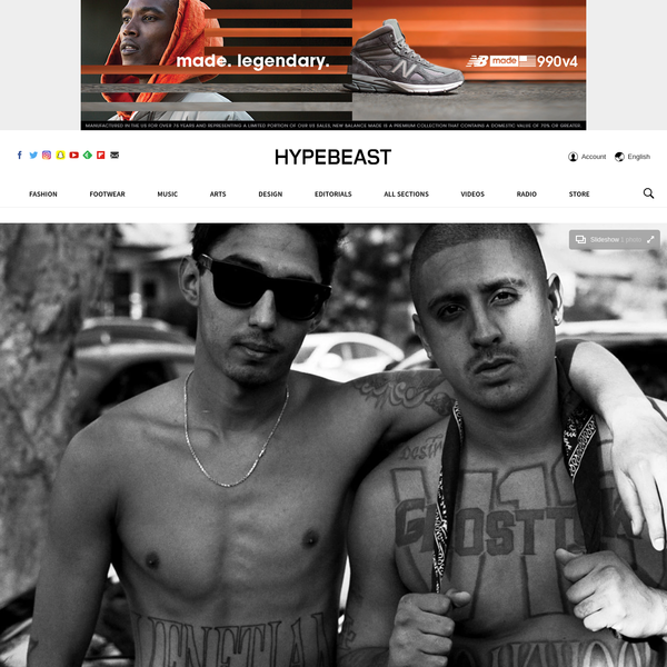 """""""Oversized"""" is a widely-used adjective to describe the clothing purveyed by some of the hottest brands today. As we presumably continue to get bombarded with elongated fits, it's important to note that this baggy aesthetic was first made popular by the Mexican American youth who belonged to a street gang in Southern California."""