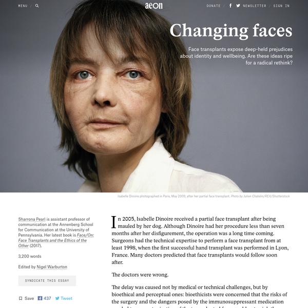 face transplant essay