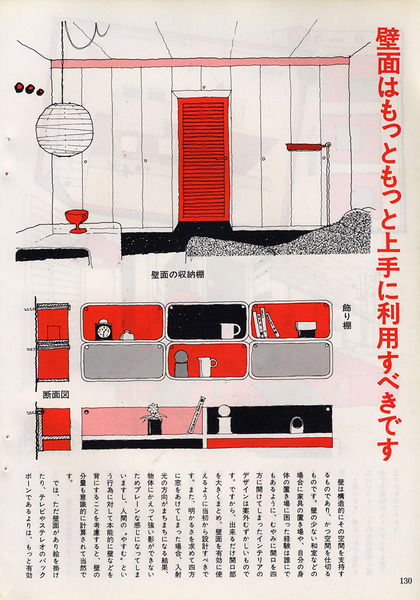 "From Japanese Magazine ""Modern Living 80"""