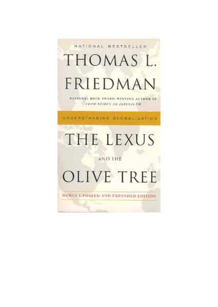 The Lexus and the OliveTree.pdf