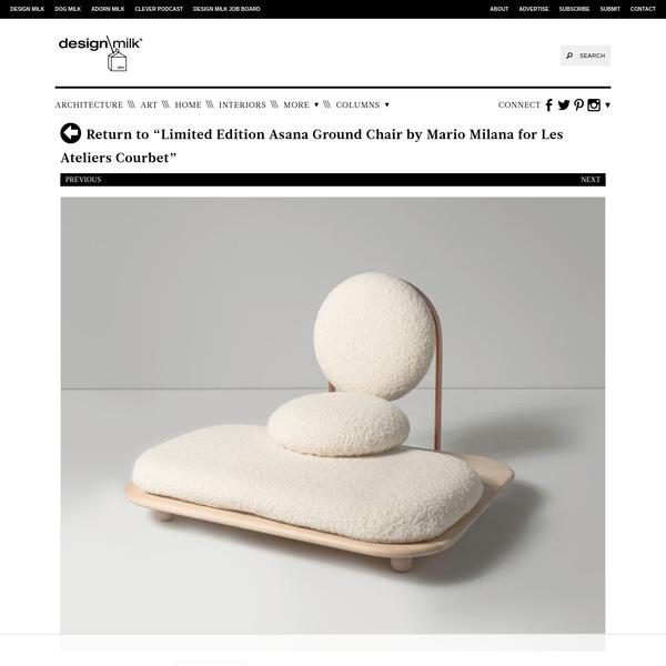 MARIO-MILANA-Asana-Chair-1 - Design Milk