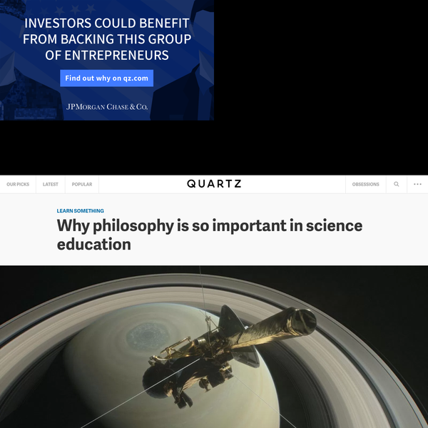 Why philosophy is so important in science education