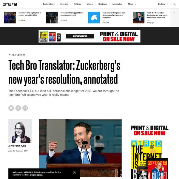 Tech Bro Translator: Zuckerberg's new year's resolution, annotated
