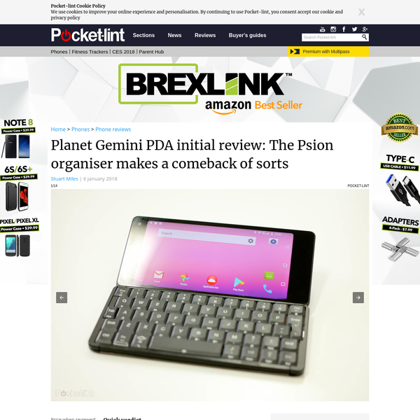 Planet Gemini PDA initial review: The Psion organiser makes a comeback of sorts - Pocket-lint