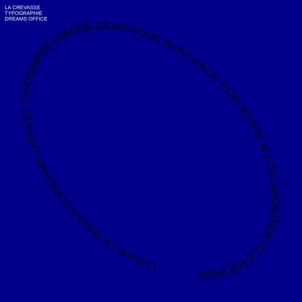 mer & typographie