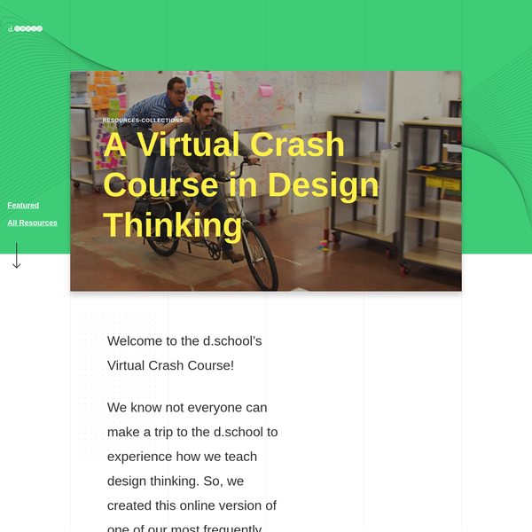 This is an online version of one of our most frequently sought after introductory learning experiences. Using a video, worksheets, and facilitation tips we will take you step by step through the process of hosting or participating in a 90 minute design challenge.