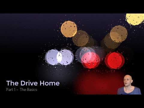 """In this video we'll lay the groundwork for my ShaderToy """"The Drive Home"""" Live code for part 1: https://www.shadertoy.com/view/4djfR1 Video of final effect: https://www.youtube.com/watch?v=WrxZ4AZPdOQ Live version of the final effect: https://www.shadertoy.com/view/MdfBRX Music: Mr. Bill - Cheyah (Zefora's digital rain remix) https://soundcloud.com/zefora/cheyah For an in-depth explanation of camera setup check these out: https://www.youtube.com/watch?v=dKA5ZVALOhs https://www.youtube.com/watch?v=PBxuVlp7nuM"""