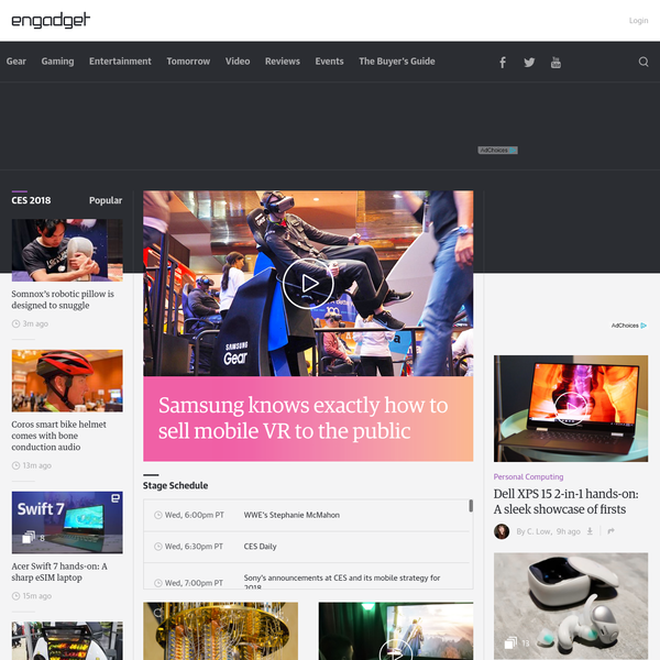 Engadget is the original home for technology news and reviews. Since its founding in 2004, we've grown from an exhaustive source for consumer tech news to a global multimedia organization covering the intersection of technology, gaming and entertainment. #test