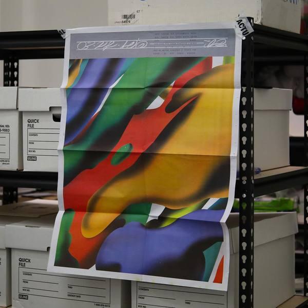 @braulioamado 4 color newsprint for Actual Source.