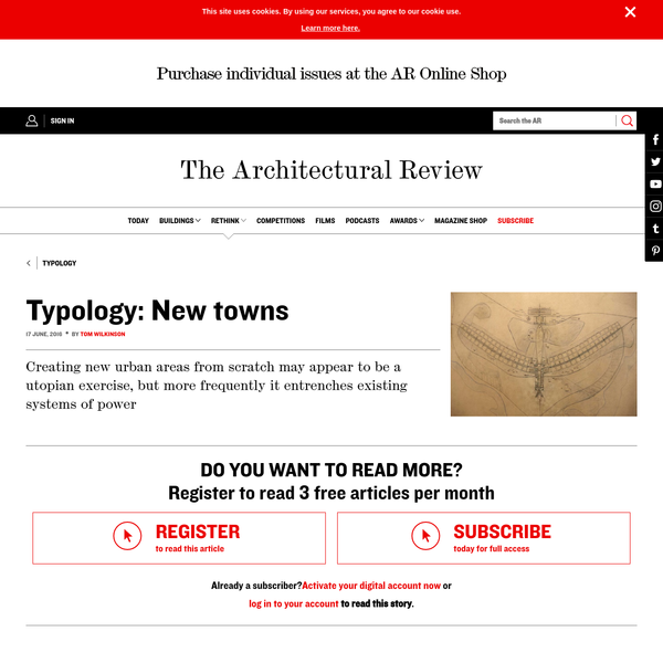 Typology: New towns