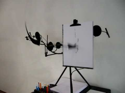 Meta-matic by Jean Tinguely