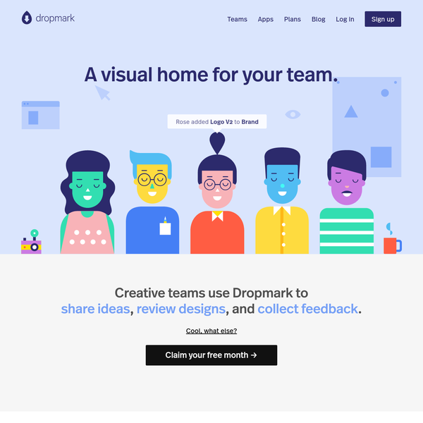 Whether your team is all in the same room or spread across the globe, everyone can upload images, share screenshots, write text, bookmark websites, post documents, and keep everything searchable, all in one place.