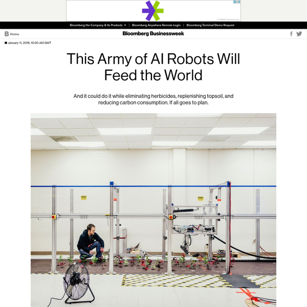 This Army of AI Robots Will Feed the World