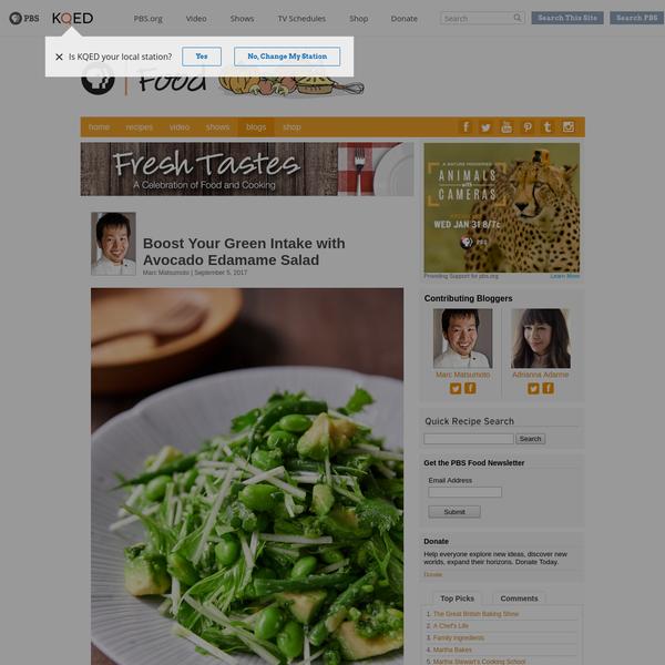 Boost Your Greens with Avocado Edamame Salad | Fresh Tastes | PBS Food