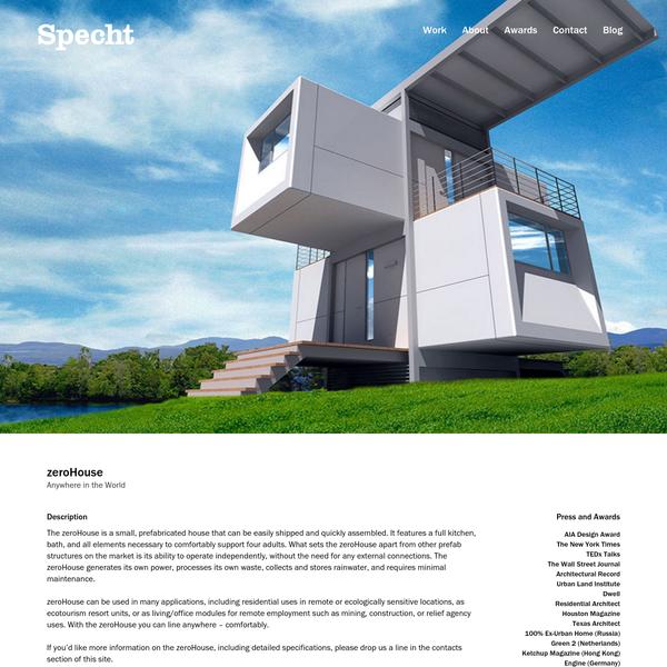 zeroHouse - Specht Architects