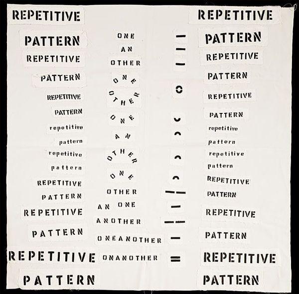 Theresa Hak Kyung Cha, Repetitive Pattern