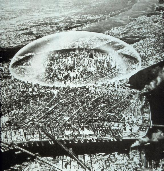 Dome Over Manhattan, Buckminster Fuller