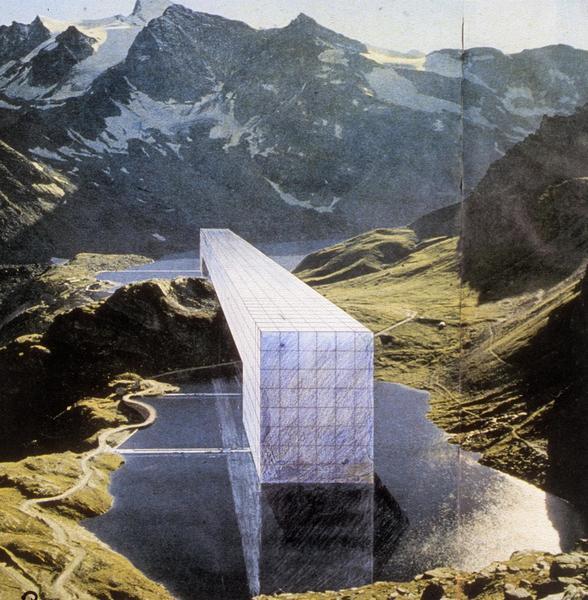 Continuous Monument Alpine Lakes, Superstudio