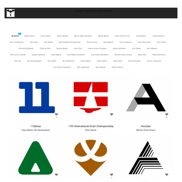Where do great worn out logos go in order not to fade away in the memory of those who used to love them? Danish Logo Preservation Society aims to gather, preserve and celebrate the very best in Danish logo design of the 1950-80s modernist era.