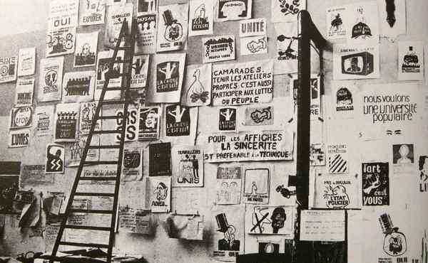 Atelier Populaire, Paris, 1968