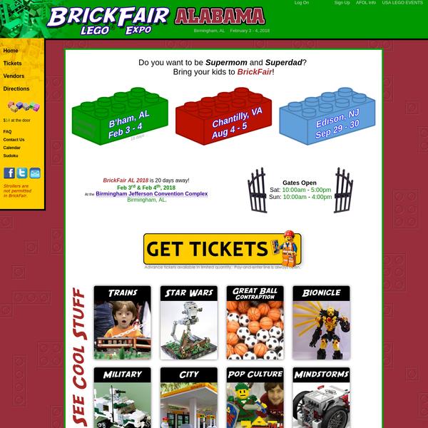 BrickFair LEGO Expo