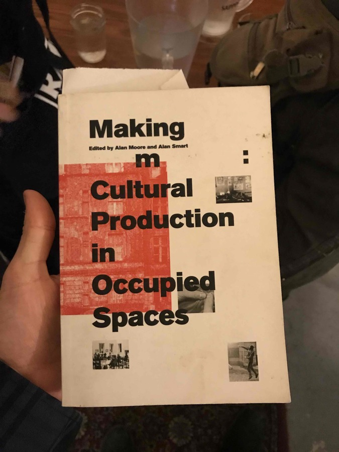 Cultural Production in Occupied Spaces