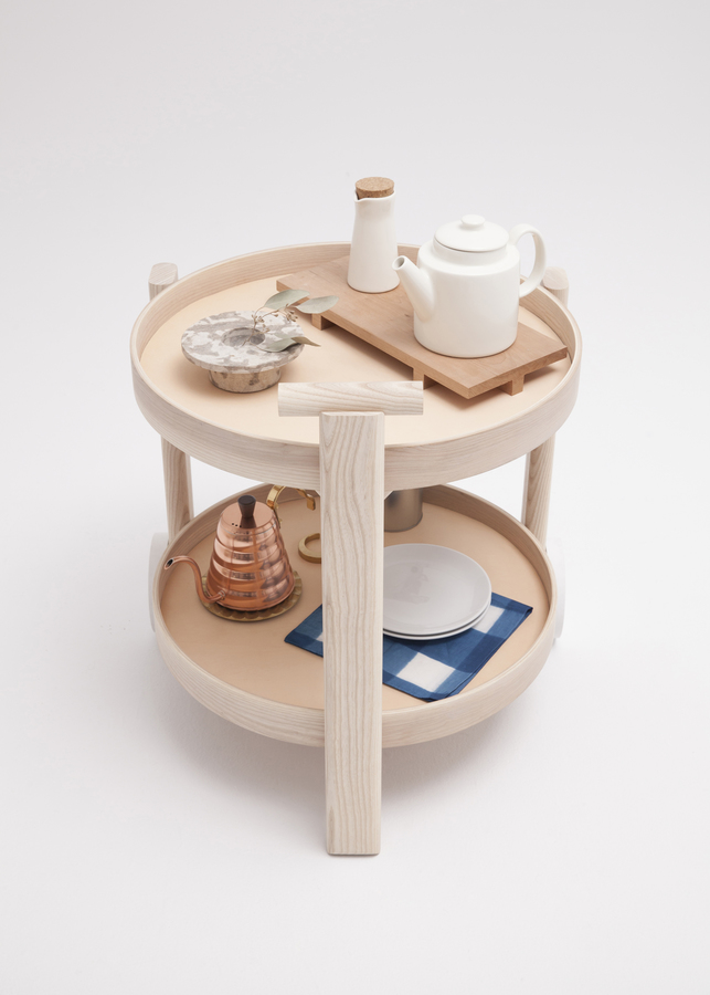 Bar cart by Thom Fougere