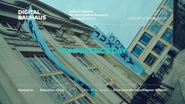 Digital Bauhaus Summit 2016: Mark Fisher - Designer Communism.