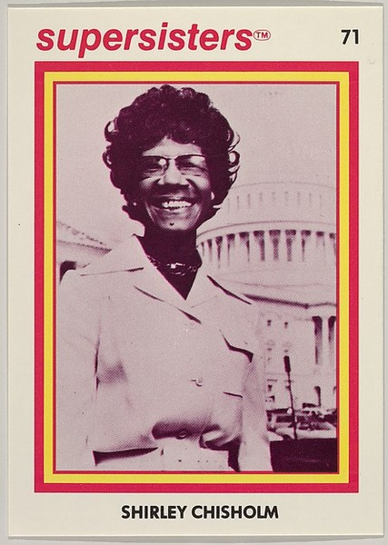 Shirley Chisholm, Supersisters No. 71