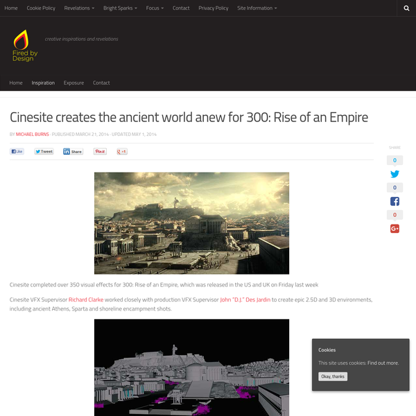 Cinesite creates the ancient world anew for 300: Rise of an Empire