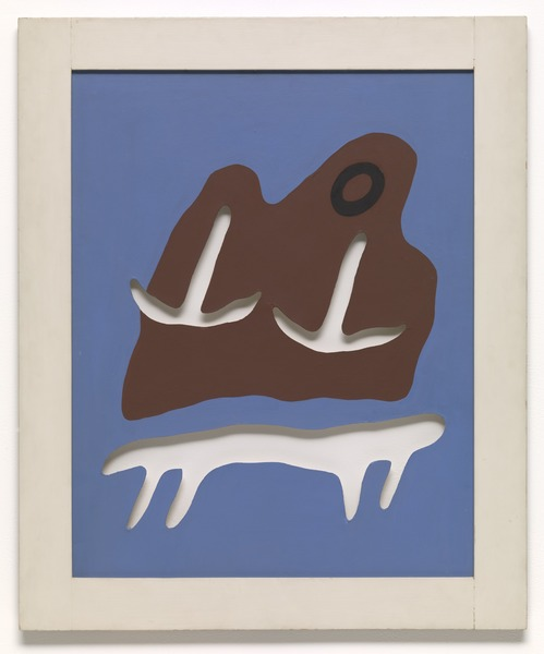 Jean (Hans) Arp, Mountain, Navel, Anchors, Table, 1925