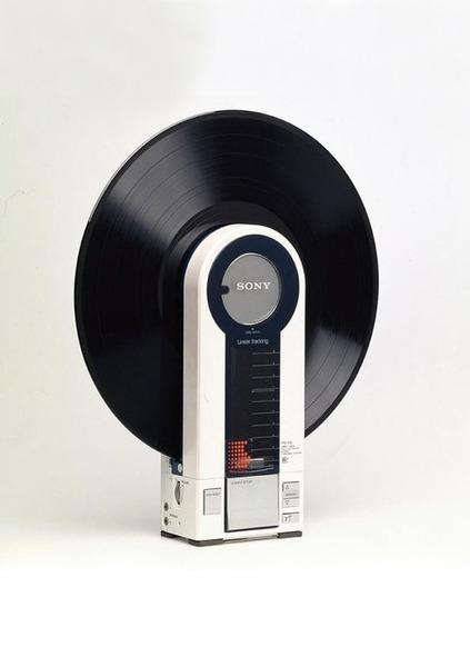 Sony Flamingo Record Player