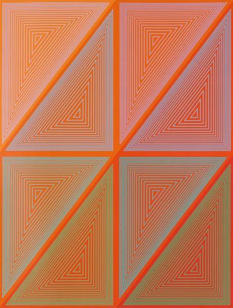 Richard Anuszkiewicz, Inward Eye, 1970