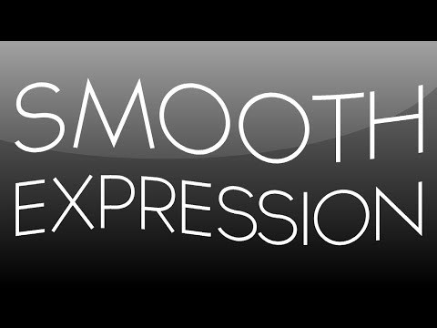 Please consider disabling your adblock to watch this video. Thank you. Wassup guys, Baker here! Today I have a smooth expression tutorial that shows you how to smooth out your keyframes. I explain what the input parameters do and how they affect your result. Be sure to LIKE and FAV the video.