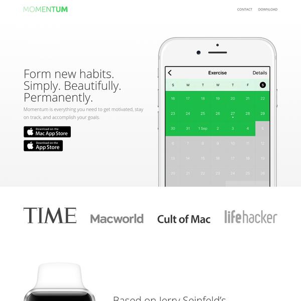 Momentum | Habit Tracker for iPhone, Apple Watch & Mac